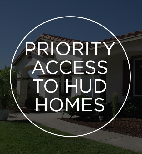 Priority Access to HUD Homes